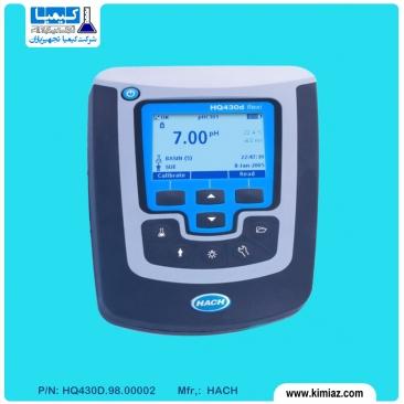 دستگاه HQ430D مولتی پارامتر تک کاناله رومیزی ، PH ، هدایت ، DO ، ORP و ISE